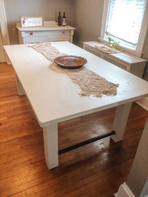 Dining room Table and Buffet Cabinet for Sale in Norfolk, VA