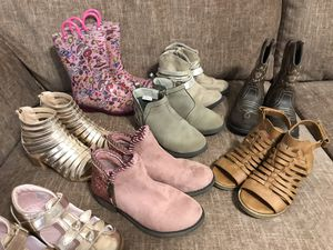 11toddler boot and sandal lot for Sale in Fairburn, GA