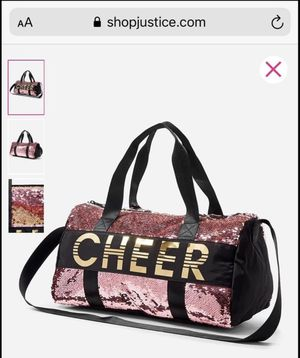 CHEER Duffle Bag from Justice for Sale in Staten Island, NY