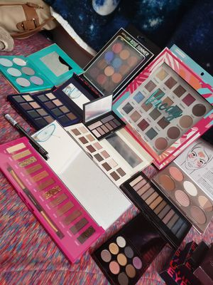 All makeup palettes and brush sets all for $240 if u buy today for Sale in FL, US