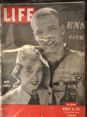 Set of 5 - Collectible Vintage LIFE Magazines (1940-1951) for Sale in Ansonia, CT
