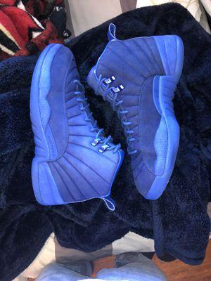 Jordan 12 PSNY true blue size 12 for Sale in North Highlands, CA
