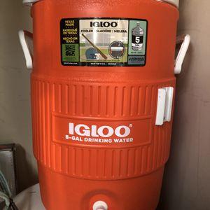 Igloo Top Seat 5 Gallon Water Cooler for Sale in Redmond, WA