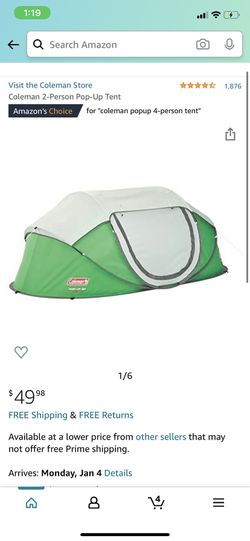 4 Person Pop Up Tent for Sale in Portland,  OR