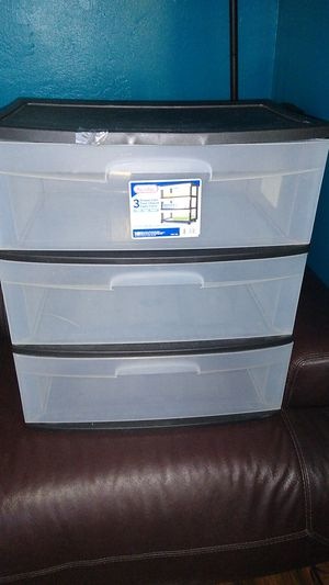Plastic Storage drawer for Sale in Lincoln Acres, CA