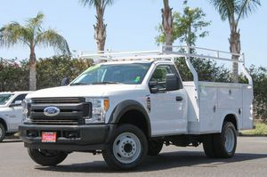 2017 Ford Super Duty F450 XLT Single Cab Utility Truck (21519) for Sale in Fontana, CA