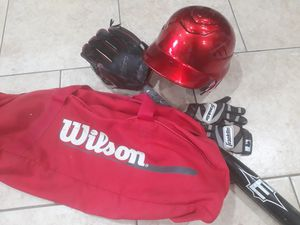 Baseball kid equipment for Sale in Houston, TX