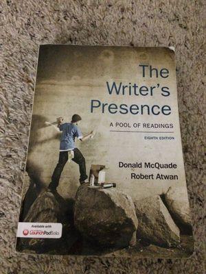 The writers presence for Sale in Alexandria, VA