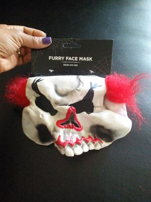 Furry Face Mask for Sale in Detroit, MI