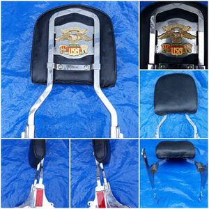 Harley-Davidson est. 1903 Made in USA Vntg. sissy backrest for Sale in Midlothian, VA