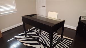 Heavy Duty Wooden Glass Office Table for Sale in Alexandria, VA
