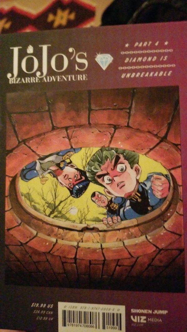 Jojo's Bizarre Adventure Part Four: Diamond Is Unbreakable, Volume 2 Manga