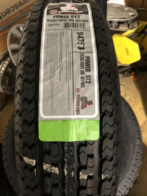 BRAND NEW ST 205 75 15 trailer tires for only $90 each FREE INSTALL!!! for Sale in Tacoma, WA