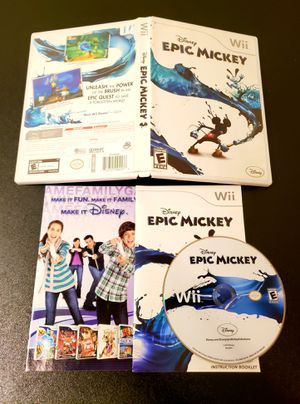 Epic Mickey - Nintendo Wii & Wii U for Sale in Houston, TX