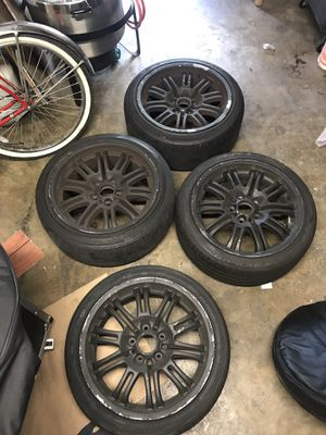 Bmw M3 staggered rims 18 inch for Sale in Santa Monica, CA