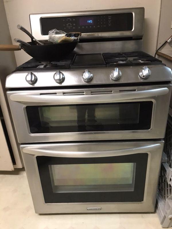 Kitchenaid Range Double Oven Gas - Kitchen Appliances Tips ...