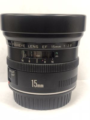 Canon EF 15mm F/2.8 Fisheye Lens for Sale in Miami, FL