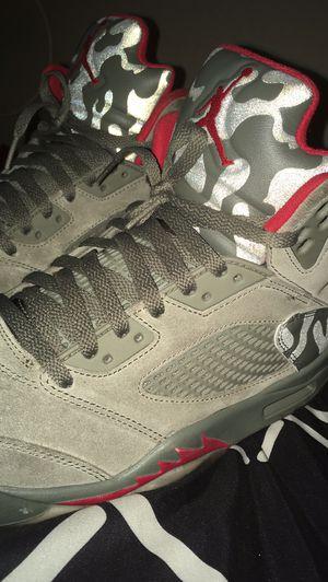 Jordan Camo 5 Size 9/12 for Sale in Tamarac, FL