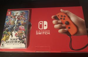 Nintendo Switch and super smash bros ultimate brand new for Sale in Orlando, FL