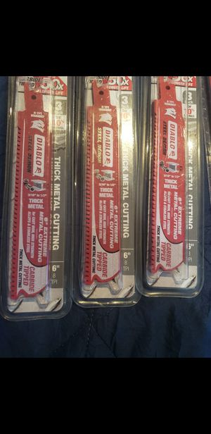 Brand new sawzall blades for Sale in Dallas, TX