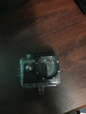 HD 1080p camera waterproof but needs a SD card for Sale in Portland, OR