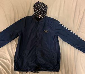 Vans waterproof jacket & champion hat for Sale in Austin, TX