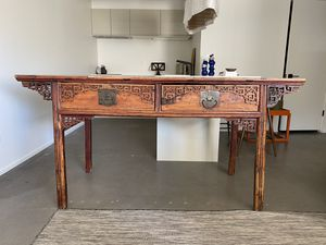 Authentic Chinese antique Caligraphy table. for Sale in Portland, OR