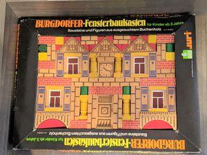 Vintage Burgdorfer-Fensterbaukasten German Wooden Building Blocks for Sale in Vista, CA