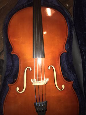 3/4 Cello in great condition with bow and hard case for Sale in Lake Charles, LA
