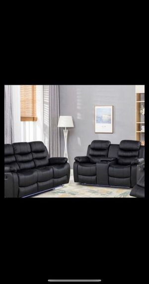 Brand New Sofa recliner Set For $899$ financing available no credit check 40$ down for Sale in Queens, NY