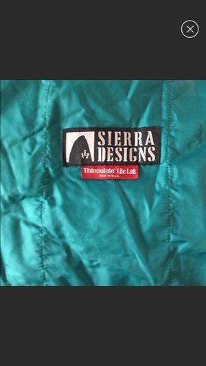 Sierra Designs Thinsulate Sleeping Bag for Sale in Torrington, CT