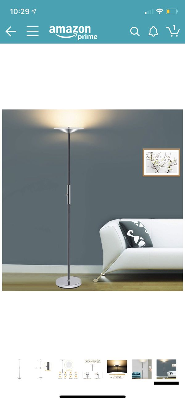 New LED Torchiere Floor Lamp