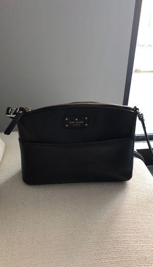 Kate spade black leather bag for Sale in Fort Lauderdale, FL