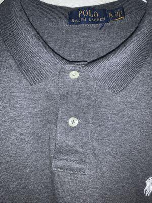 Polo Ralph Lauren grey shirt for Sale in Ontario, CA