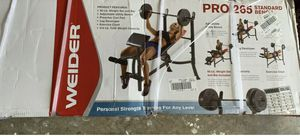 Weider Pro 265 Weight Bench for Sale in Olympia, WA