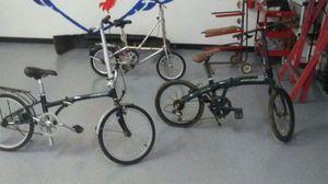 Set of folding bikes for Sale in Pasadena, TX