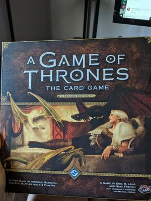 A Game of Thrones The Card Game: Second Edition Core Set for Sale in Los Angeles, CA