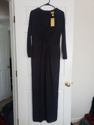 Black H&M Long Dress Gown Long Sleeve Bridesmaid MOB Prom Dresses for Sale in Bristol, CT