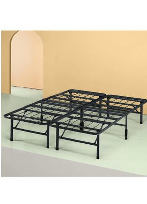 King Size Collapsible Foldable Metal Bed Frame / Box Spring for Sale in Fort Lauderdale, FL