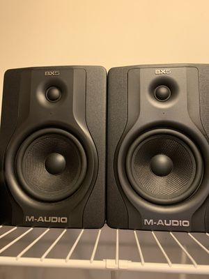 M-Audio BX5 Monitors (Speakers) for Sale in Stone Mountain, GA