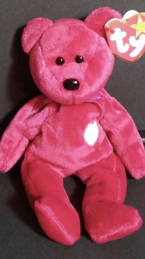 "VINTAGE TY BEANIE BABY ""VALENTINA"" IN PROTECTIVE CASE for Sale in Denver, CO"