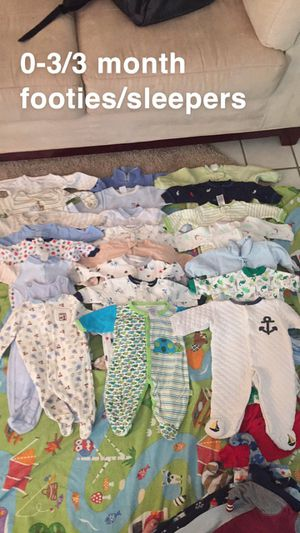 Newborn to 6 month baby clothes for Sale in Yorktown, VA