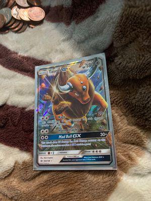 Pokemon - Tauros-GX - 100/149 - Sun & Moon for Sale in East Orange, NJ