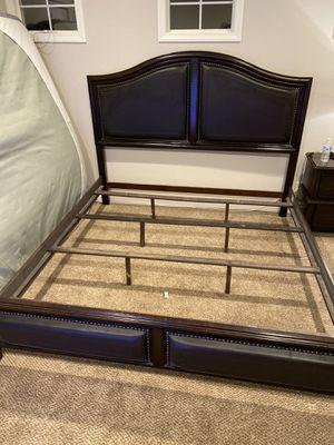 King bed frame for Sale in Rancho Santa Margarita, CA