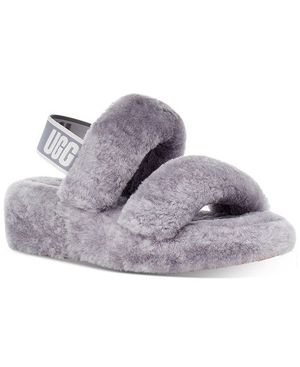 New Grey Ugg Fluff Yeah Slide Available in U.S Women Sizes 5.0 6.0 7.0 8.0 9.0 for Sale in South Gate, CA