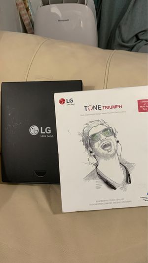 LG Tone Triumph Headset for Sale in Los Angeles, CA