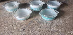 Pyrex Amish Butterprint set with lids 10 pieces for Sale in U SADDLE RIV, NJ