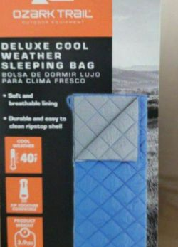Brand New 40F Sleeping Bag FIRM PRICE! for Sale in Pasadena,  CA