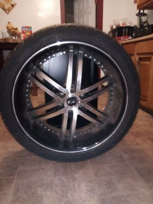 24 inch rims and tires for sale.$1,400 or b.o for Sale in New Britain, CT