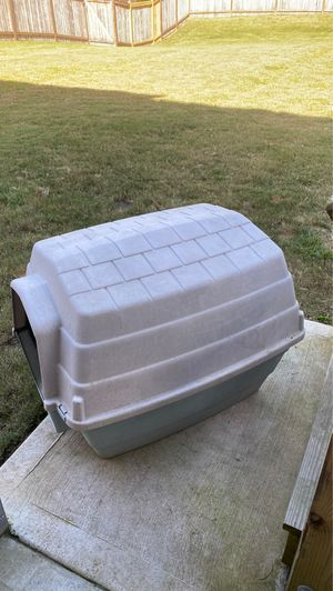 Plastic outdoor dog house for Sale in Cumming, GA